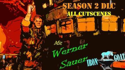 Zombie Army 4: Dead War - Season 2 DLC All Cutscenes - Werner Sauer