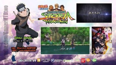 Naruto Shippuden Ultimate Ninja Storm Revolution   Naruto Revolution Shisui Uchiha no GAME e no Epis