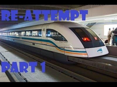 The Fastest Train In Trainz Re-Attempt part 1   Trainz Simulator 12