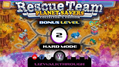 Rescue Team 11 - Bonus Level 2 Walkthrough (Planet Savers)