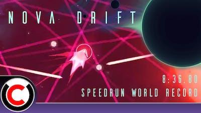 Nova Drift Speedrun: 8:36.80 (Former WR) - Ultra Challenger