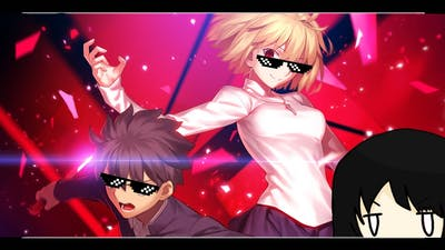 """""""Melty Blood: Type Lumina"""" Last Arc/ Arc Drive Finish to the end"""