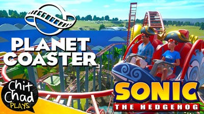 Sonic Zone: Video Game Park | Planet Coaster