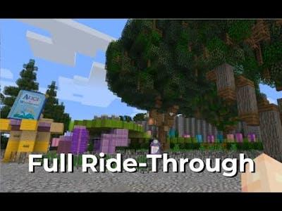 Minecraft: Alice in Wonderland Full HD Ride-Through