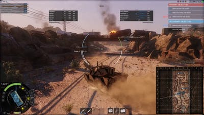 Patch 0.21Game Play - M8 Thunderbolt II LT on Onyx