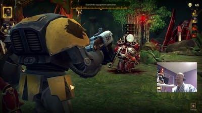 Warhammer 40K Space Wolf SO MUCH YELLING!