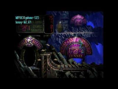 Oddworld Abes Exoddus - Speedrun number 2 in 3 35 using DD Cheat & Obects already