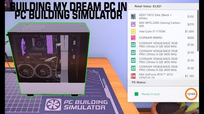 BUILDING MY DREAM PC IN Pc Building Simulator.