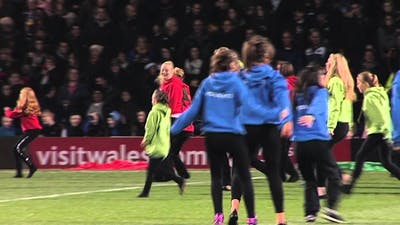 RLWC2013 Pride of Nations dance performed before the NZ v PNG game at Headingley