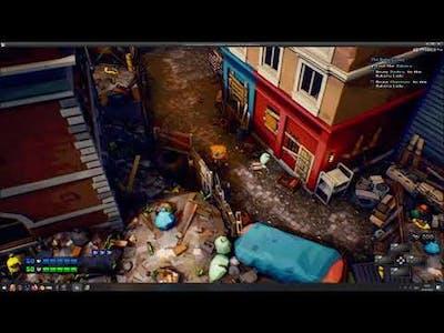TOWN OF MACHINE Dev Log - Town, NPCs, Dialogue