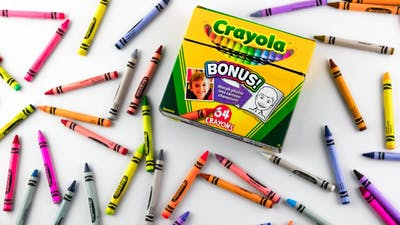 Learn Colors for Kids - Crayola 64 Pack