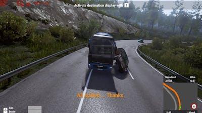 Fernbus Simulator Beta - Crazy Driving | Part 1