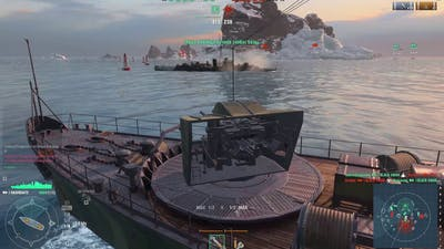 """World of Warships """"Hashidate""""  different games"""