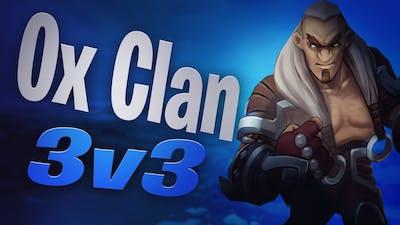 Northgard Ox Clan 3v3 Domination Victory