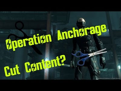 Cut Content in Fallout 3: Operation Anchorage?