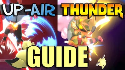 Smash Ultimate: Up-Air Thunder Guide