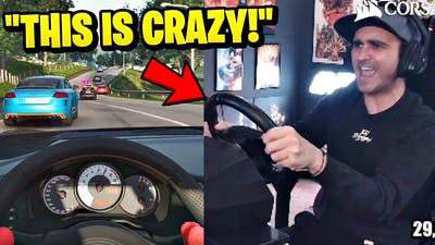 Summit1g Plays with FULL Sim Racing Wheel for FIRST TIME in Project Cars 3!