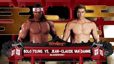 WWE 2K18 - Bolo Yeung vs. Jean-Claude Van Damme