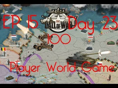 Call of War 1942 100 Player Fan Game, Day 24, EP16