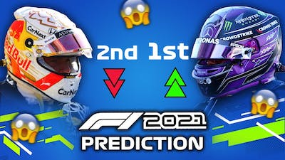 I LET THE F1 2021 GAME PREDICT THE WORLD CHAMPIONSHIP & FINAL 6 RACES THIS SEASON!