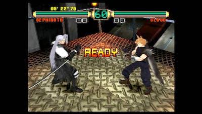 Ehrgeiz (PlayStation) Arcade Mode as Sephiroth