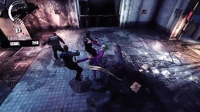 Batman: Arkham Asylum HD Challenge Mode gameplay pt1