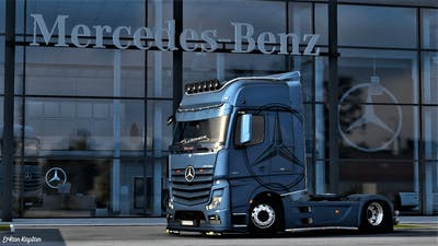 ETS2 Mercedes Actros MP4 Tuning Addons [1.40] | Euro Truck Simulator 2 Mod