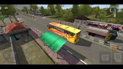 the most luxurious tourist bus simulator indonesia
