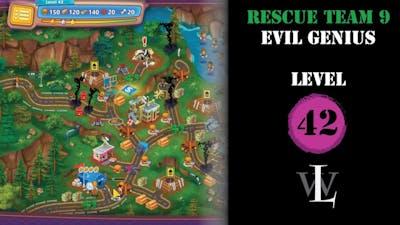 Rescue Team 9 - Evil Genius - Level 42 walkthrough