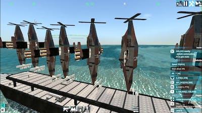 BFS Cobolt CV1 demonstration crashed my game (From The Depths)