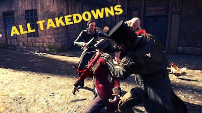 Assassin's Creed Syndicate All Finishers & Takedown Animations