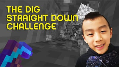 The Mighty Minecrafter: The Dig Straight Down Challenge