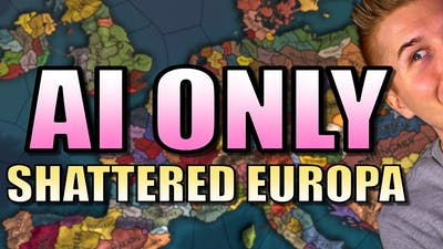 EU4   SHATTERED EUROPE AI ONLY   Europa Universalis 4 - Mandate of Heaven Gameplay [Part 1]