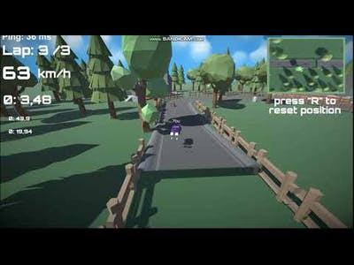 Poly-Race Gameplay