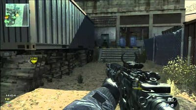 Call of Duty: Modern Warfare 3 Sabotage Gameplay on Dome