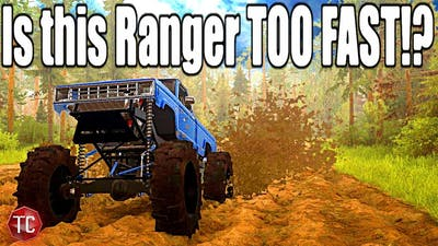 SpinTires MudRunner: Is This The FASTEST MUD TRUCK!?