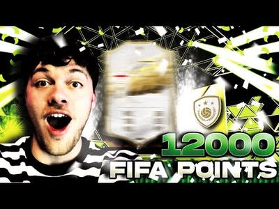 THE BEST 12,000 FIFA POINTS EVER? ICON!!!