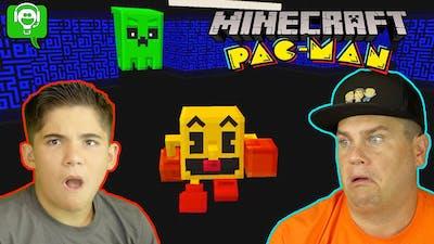 Minecraft Pac-Man Mod Creeper Boom