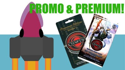 Card Opening! PROMO AND PREMIUM!!!
