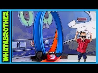 Custom Hot Wheels Stunt Track : Hot Wheels Fun!