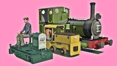 The SMALLEST Trains! of Train Simulator 🚂