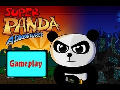 Super Panda Adventures - Gameplay