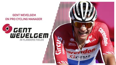 GENT - WEVELGEM 2020 // Pro Cycling Manager 2020 // @Timmsoski