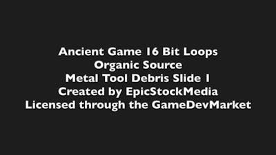 Ancient SFX: Organic Source