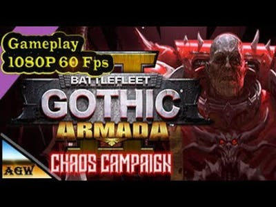 Battlefleet Gothic Armada 2; Chaos Campaign Gameplay (PC game)