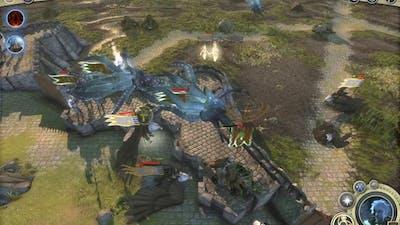 Age of Wonders III mutiplayer battle