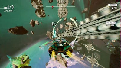 Redout 1.3.0 - Neptune DLC gameplay - ASUS R7 360 OC 2GB [720p60]