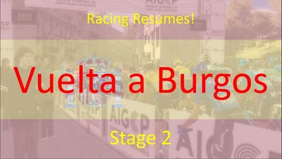 Vuelta a Burgos 2020 | Stage 2 | Pro Cycling Manager 2020