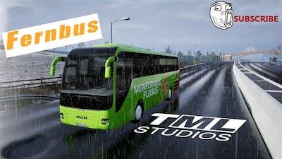 Fernbus Simulator - Starlsund to Sellin [2k/1440p]