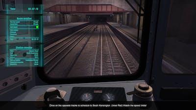 World Of Subways 3 – London Underground Circle Line  -  Mission Run 2 (To South Kensington)